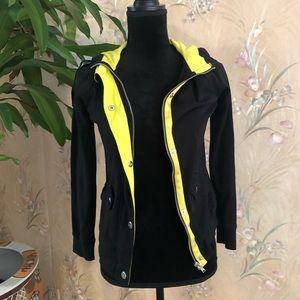 Yellow & Black Zip Up Lauren Ralph Lauren